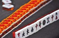 Yangshou (China): Mahjong dominos