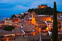 Begur, Baix Empordá, Costa Brava, Girona Province, Catalonia, Spain.