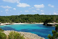 Cala Turqueta, Minorca, Balearic Islands, Spain