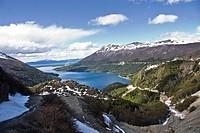 Garibaldi mountain pass, Ushuaia, Tierra del Fuego island, Argentina