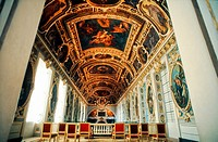 Fontainebleau, France, inside French Chateau, Trinity Chapel