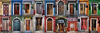 doors and windows from Burano - Venice