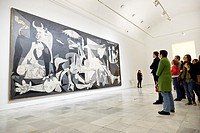 The ´Guernica´ painting by Picasso, Reina Sofia Museum, Madrid, Spain