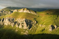 Mountains, Valle del Miera valley, Cantabria, Spain
