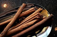 Beijing (China): vanilla sticks at the bar of the Fairmont Beijing Hotel