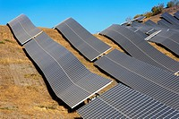 Solar plant  Lucainena de las Torres  Almeria  Andalucia  Spain