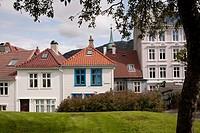 Europe, Norway, Hordaland, Bergen, Stransiden district, Haugeveien street