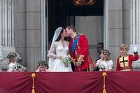 London royal wedding between Prince William and Kate Middleton  29/04/2011, London  England