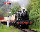 Severn Valley Railway, Near Bewdley, Worcestershire, England, Europe