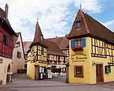 Wine cellar at Eguisheim, Alsace  France