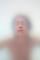 Woman´s face emerging
