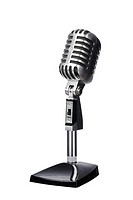 Mic microphone wintage old