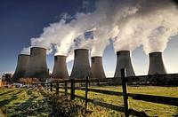 Ratcliffe on Soar coal fired power station  Ratcliffe, Nottinghamshire, UK