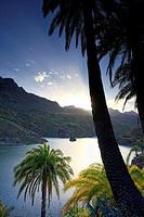 Canary Islands, Gran Canaria, Santa Lucia, La Sorrueda Reservoir