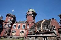 The old observatory in Liège, Wallonia, Belgium, Europe, Das alte Observatorium in Cointe, Lüttich, Wallonien, Belgien, Europa
