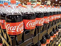 Display of Coca Cola