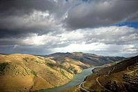 View of Douro River ner Fox Coa, Portugal