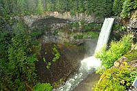 Brandywine Falls and Daisy Lake, Brandywine Falls Provincial Park, near Whistler, British Columbia, Canada