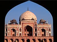 India, Delhi, Humayun´s Tomb,