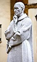 Statue of Father Feijoo - Oviedo - Asturias - Spain