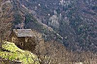 Borda Cardet - Vall de Boi - Pyrenees - Lleida Province - Catalonia - Cataluña - Catalunya - Spain