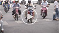 Time_lapse animation of traffic/street life in Ho Chi Minh City, Vietnam