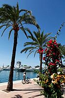Luxury Boats at Puerto Portals Marina in Majorca, Spain