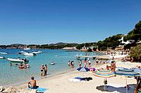 Beach at Puerto Portals , Majorca, Spain