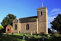 St  Michael´s Parish Church, Rushock, Worcestershire, England, Europe