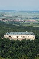 The medieval castle Cerveny Kamen, Slovakia