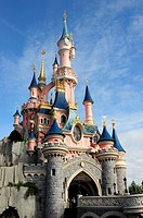 Sleeping Beauty Castle  Fantasyland, Disneyland, Paris, France