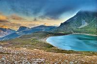 Ausente Lake. Picos de Europa Regional Park. Puebla de Lillo. Leon Province. Castilla y Leon. Spain.