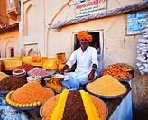 Street Food Vendor, The Amber Fort, Jaipur, India