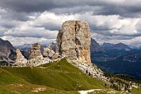 Cinque Torri, Dolomite Alps, Italy, Alta Via Dolomiti