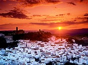 Casares Andalucia Southern Spain Costa Del Sol