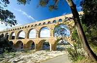 Pont du Gard, Nimes, Provence, South of France