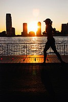 Manhattan Sunset Jogger