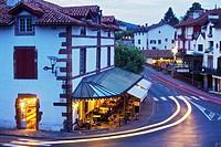 Saint-Jean-Pied-de-Port (aka Donibane Grazi), Pyrenees Atlantiques, Aquitaine, France