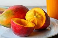 Red Mangoes fruit