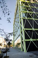Media-TIC business centre, 22@ business development, Poblenou, Barcelona, Catalonia, Spain