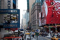 42nd Street & 7th Avenue, Times Square, New York