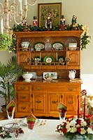 Nutcrackers on Dresser