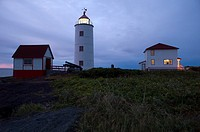 Dating from 1809, the lighthouse is the oldest on the St. Laurent and the third in Canada. L´île Verte Green Island is an island in the estuary of the...