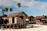 Sulug Village Mabul, Mabul Island, Sabah, Malaysia, Borneo.
