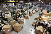 A plastics molding injection plant in Hudson, Colorado, USA
