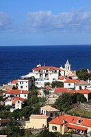 village Jardim do Mar at the Atlantic Ocean on the island Madeira, Portugal, Europe.