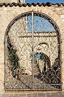Gate, Palazzo Avalos, Vasto, Italy