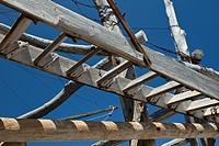 Ladder for Fishing Facility, Adriatic Coast, Italy