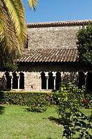 Cloister, San Giovanni in Venere, Vasto, Italy