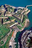 Vauban Citadel. City of Le Palais capital. Island of Belle-île-en-Mer. Morbihan department. Brittany province. Atlantic coast. France.